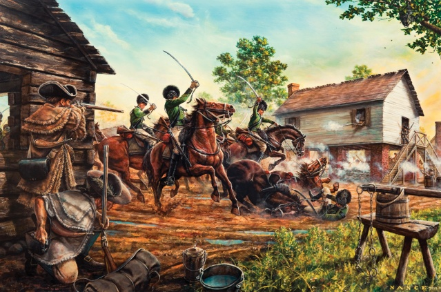 revolutionary war battle of charlotte